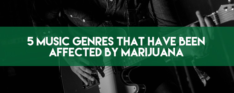 5 music genres that have been affected by marijuana